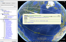 IPv4 Address Routing (Google Earth)